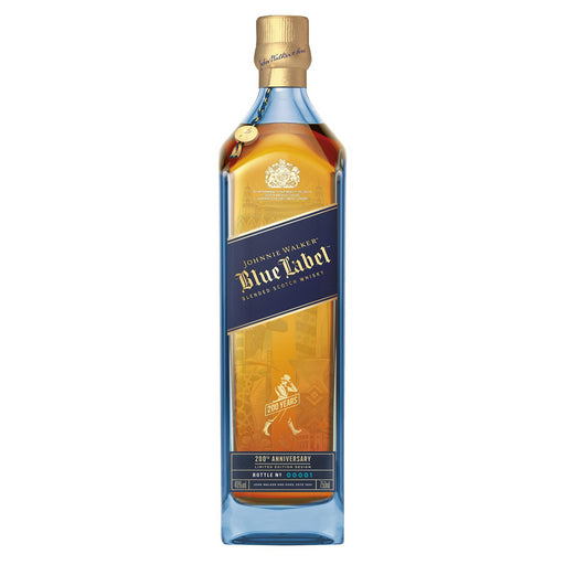Johnnie Walker Blue Label Blended Scotch Whisky 200th Anniversary Gift Box 70cl 40% ABV