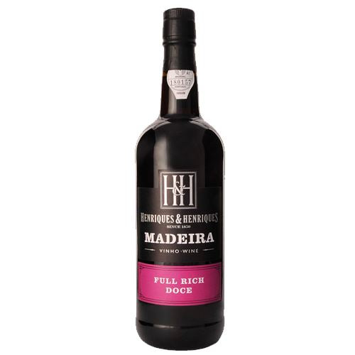Henriques and Henriques Full Rich Doce Madeira 75cl 19% ABV