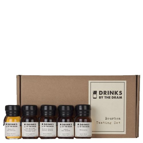 Drinks by the Dram Bourbon Tasting Set 5x3cl 47.5% ABV