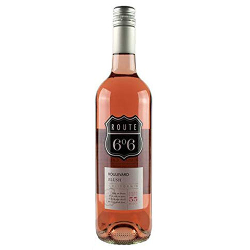 Route 66 Boulvard Blush Zinfandel Rose 75cl 10.5% ABV