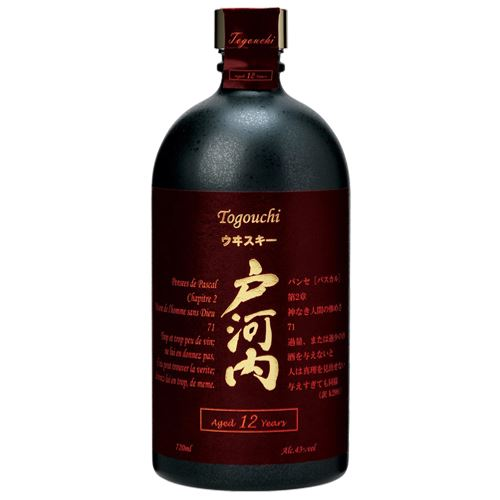 Togouchi 12 Year Old Japanese Blended Whisky 70cl Gift Boxed 40% ABV