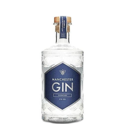 Manchester Overboard Gin 50cl 57% ABV