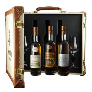 Delamain Cognac Attache Case (3 x 20cl) 40% ABV