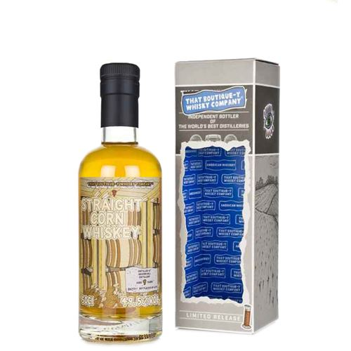 That Boutique-y Whisky Company Heaven Hill - Batch 1 - 9yo Corn Whiskey 50cl 49.5%