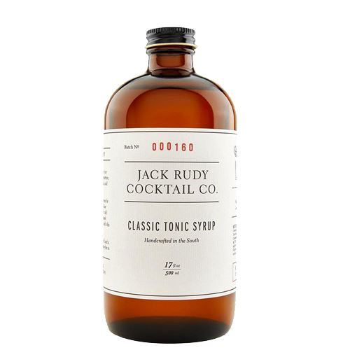 Jack Rudy Classic Tonic Syrup 500ml