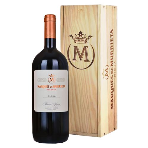 Marques de Murrieta Rioja Tinto Reserva 2014 Magnum in Wooden Gift Box 150cl 14% ABV
