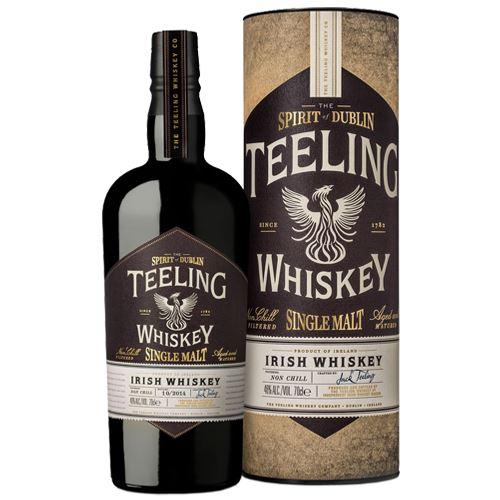 The Spirit Of Dublin Teeling Single Malt Irish Whiskey 70cl 46% ABV