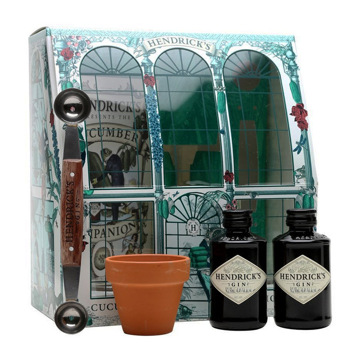 Hendricks Gin Cucumber Hothouse Gift Pack 2 x 5cl