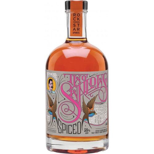 Two Swallows Cherry Spiced Rum 50cl 38% ABV