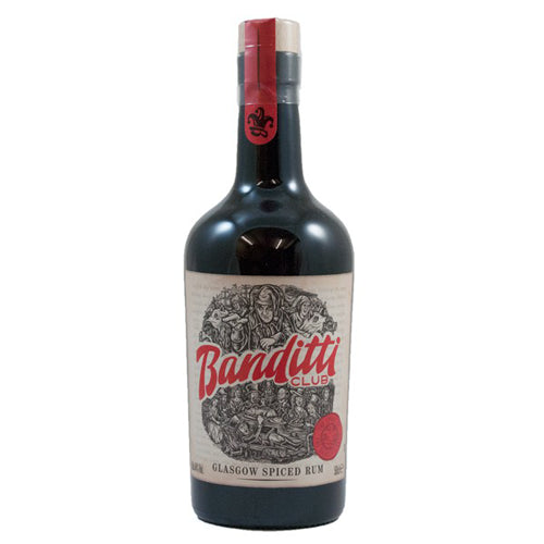 Banditti Club Glasgow Spiced Rum 50cl 44% ABV