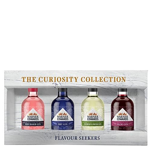 Warner's Curiosity Gin Collection Gin 4x5cl