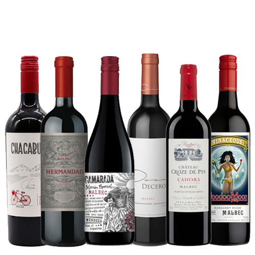Staff Selection Malbec Mixed Case - 6 x 75cl