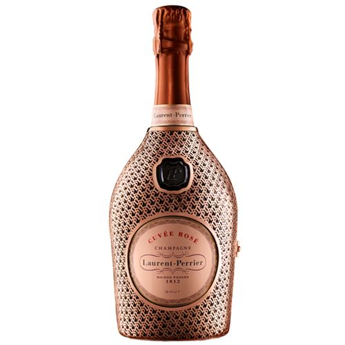 "Laurent Perrier Rosé Champagne 75cl ""Robe"" Metal Jacket 12% ABV"