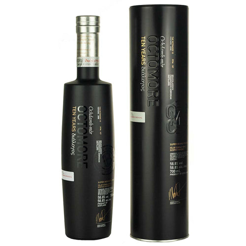 Bruichladdich Octomore 10 Year Old - Third Edition Islay Single Malt Whisky 70cl