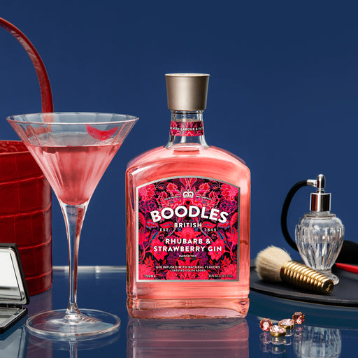 Boodles Rhubarb & Strawberry Gin 70cl