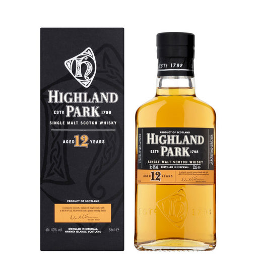 Highland Park 12yo Single Malt Whisky 35cl 40% ABV