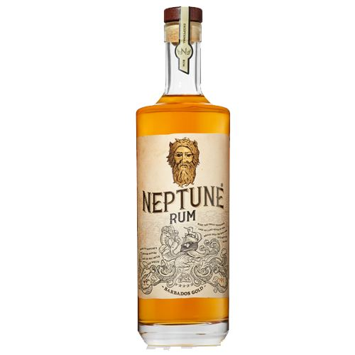 Neptune Gold Barbados Rum 70cl 40% ABV