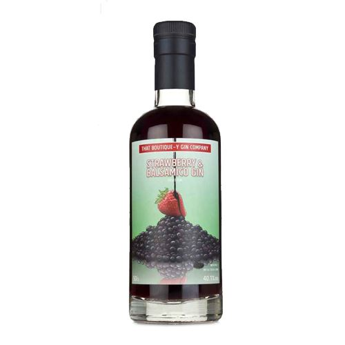 That Boutique-y Gin Company Strawberry & Balsamico Gin 50cl 40.1% ABV