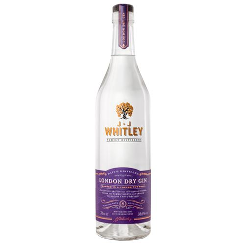 JJ Whitley London Dry Gin 70cl 38.6% ABV