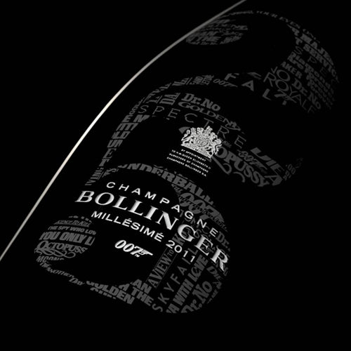 Bollinger 007 James Bond Limited Edition Millesime 2011 Magnum 150cl