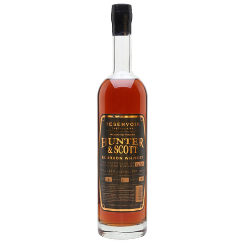 Reservoir Hunter & Scott Bourbon 70cl 45% ABV