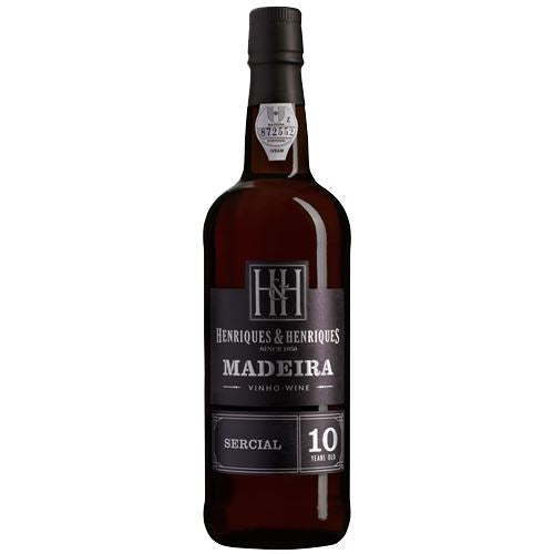 Henriques and Henriques 10 Year Old Sercial Madeira 50cl 20% ABV