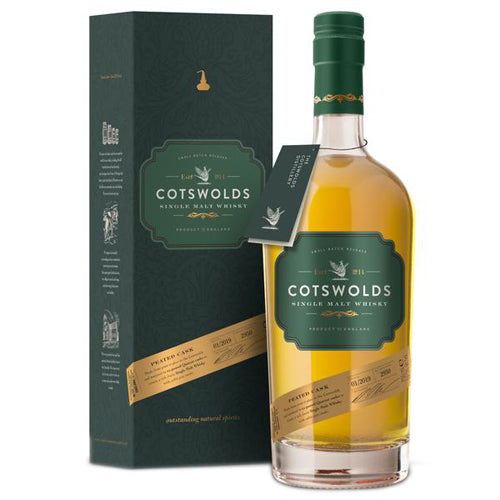 Cotswolds Single Malt Whisky Peated Cask 70cl 59.3% ABV