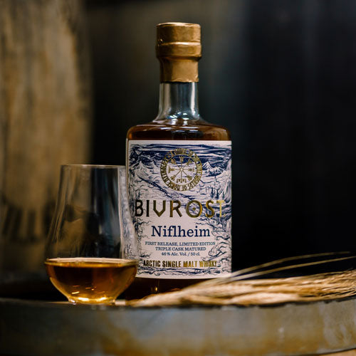 Bivrost Niflheim Arctic Single Malt Whisky 50cl 46% ABV - First Release