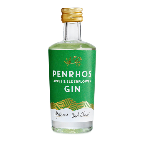 Penrhos Apple & Elderflower Gin 5cl 40.5% ABV