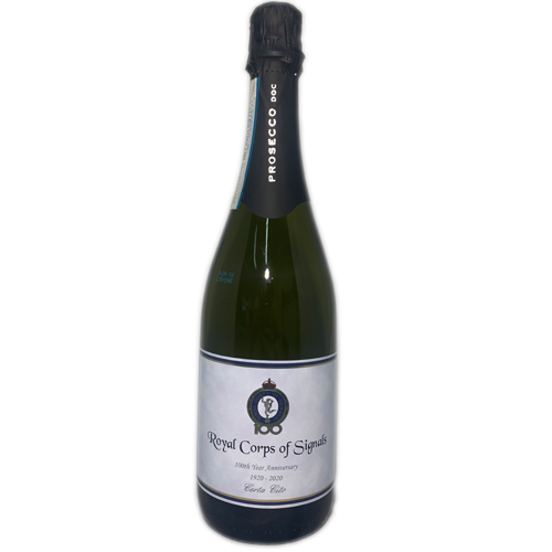Royal Corp of Signals Prosecco 75cl