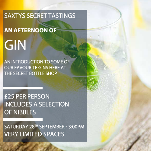 Gin Tasting Afternoon - 28.09.19
