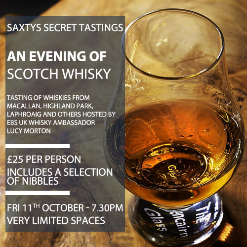 Scotch Whisky Tasting Evening - 11.10.19
