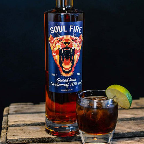 Soul Fire Overproof Spiced Rum 70cl 70% ABV