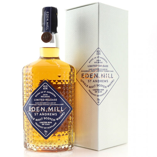 Eden Mill Single Malt Whisky 2018 Release 70cl