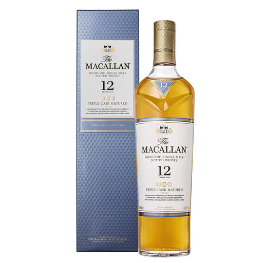 Macallan 12yo Triple Cask Whisky 70cl 40% ABV