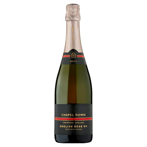 Chapel Down English Rose NV Sparkling Wine 75cl 12% ABV
