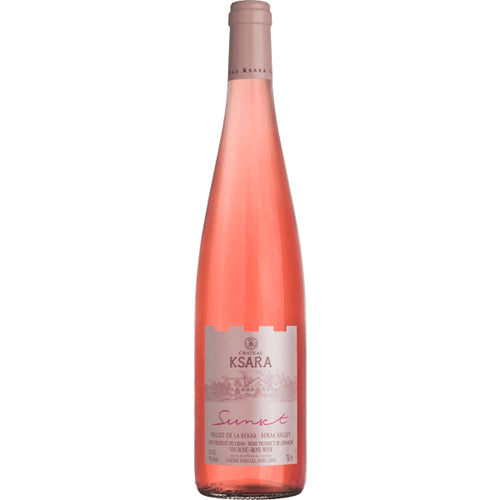 Chateau Ksara Sunset Rose 2018 75cl 13.5% ABV