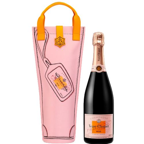 Veuve Clicquot Rose Brut NV Champagne 75cl Shopping Bag