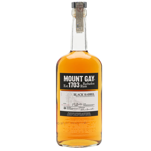 Mount Gay Black Barrel Rum 70cl 43% ABV