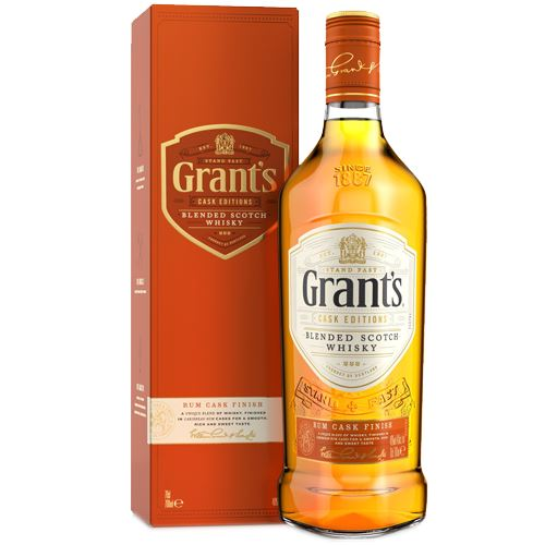 Grants Rum Cask Finish Whisky 70cl 40% ABV