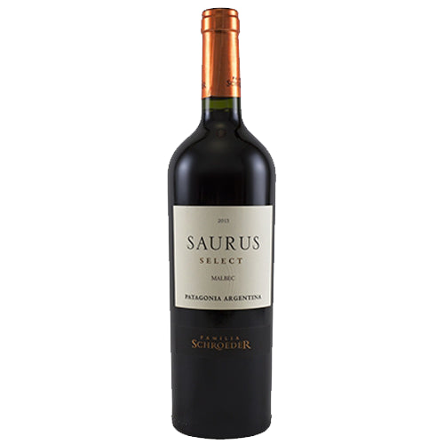 Familia Schroeder 'Saurus' Patagonia Select Malbec 2017 75cl 14% ABV