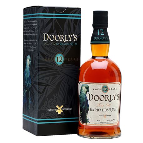 Doorly's 12 Year Old Barbados Rum 70cl in presentation Gift Box