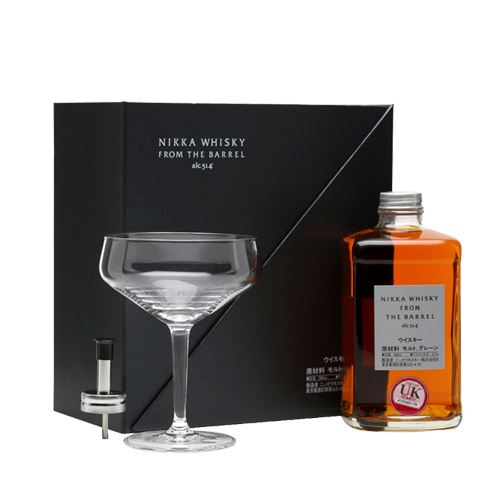 Nikka Whisky From The Barrel 50cl with Cocktail Glass Gift