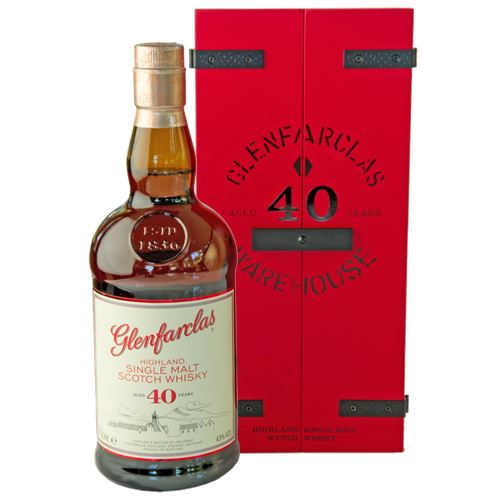Glenfarclas 40 Year Old Whisky Gift Boxed 43% ABV