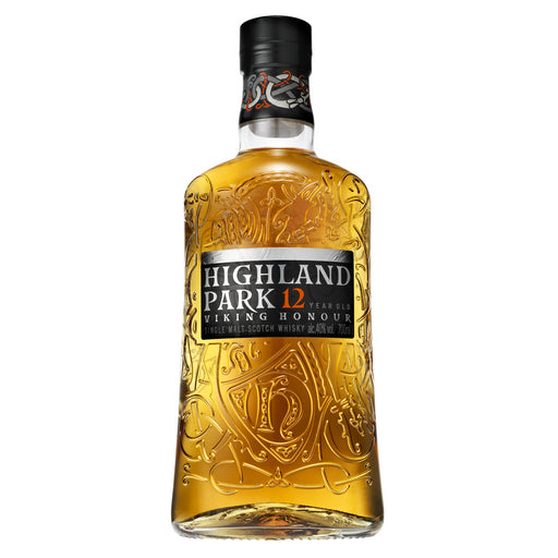 Highland Park 12 Year Old Whisky Glass Pack 70cl