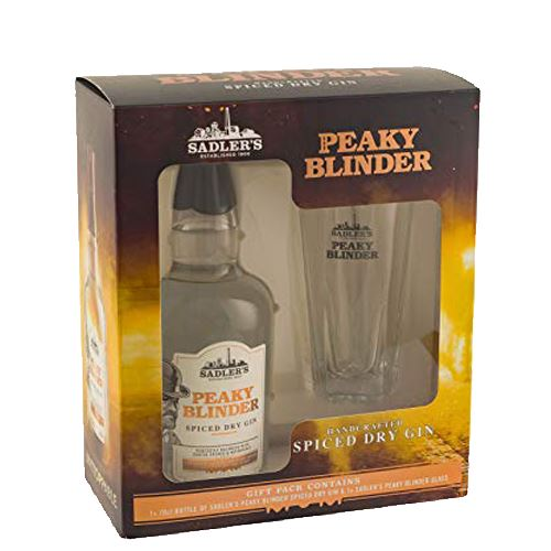 Peaky Blinder Spiced Gin 70cl Glass Gift Pack