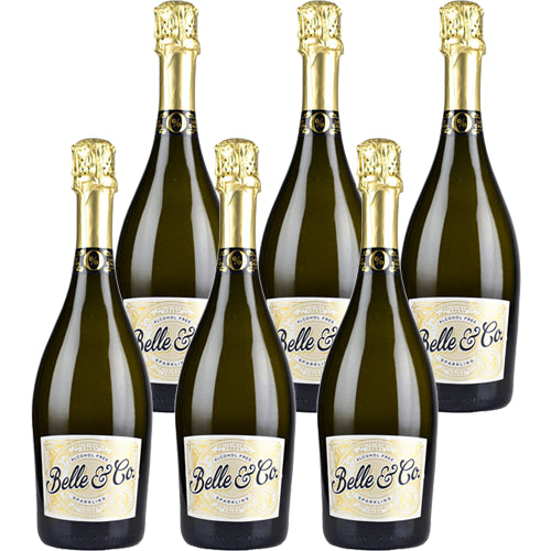 Belle & Co Alcohol Free Sparkling Brut 75cl Case of 6