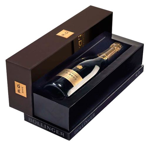 Bollinger RD Vintage 2002 Champagne 75cl In Gift Box 12% ABV