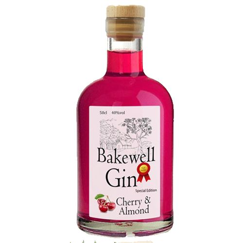 Bakewell Cherry and Almond Gin 50cl 40%