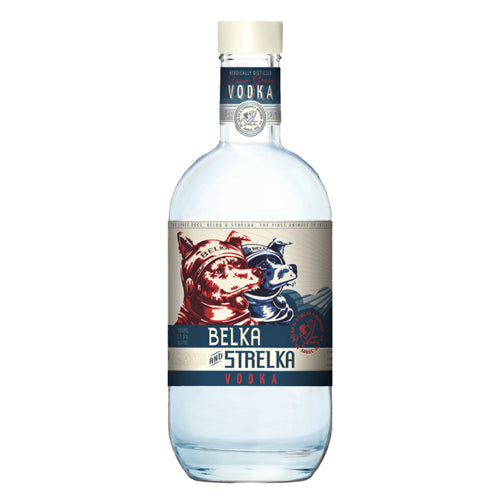 Belka And Strelka Vodka 70cl 37.5% ABV